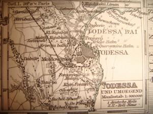 Map of Todessa